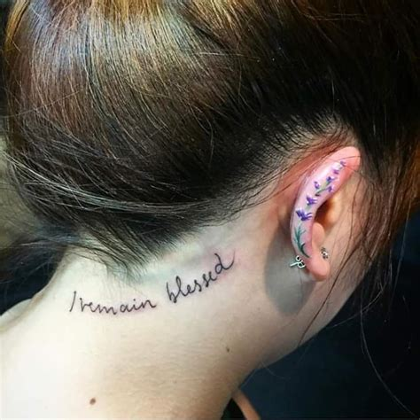 69 unconventional ear tattoo designs to drool over