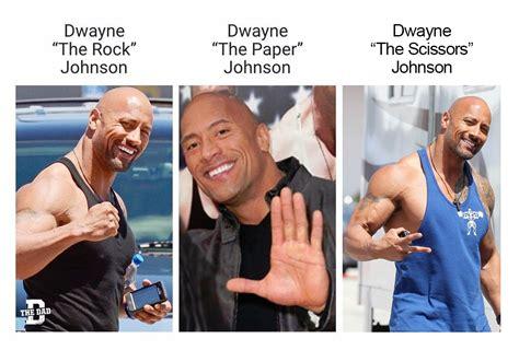 the rock memes dwayne quot the rock paper scissors quot johnson dwayne quot the