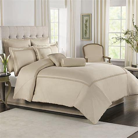 wamsutta comforter sets wamsutta 174 baratta stitch comforter set in taupe