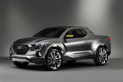 Hyundai S Santa Cruz Crossover Truck Concept Is A Pickup