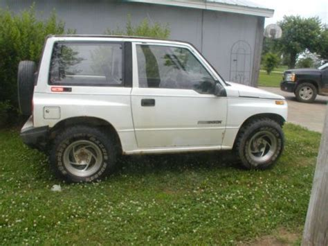 Buy Suzuki Sidekick Buy Used 1989 Suzuki Sidekick 4 X 4 In Jasper Indiana