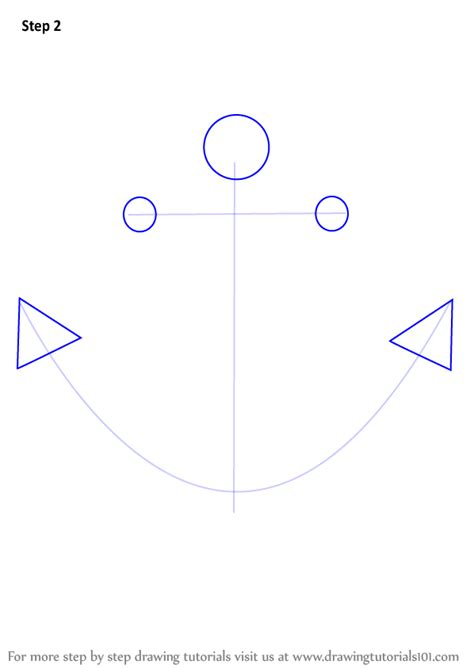 boat anchor drawing learn how to draw a boat anchor boats and ships step by