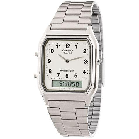 orologio casio moda orologio uomo casio vintage aq 230a 7b