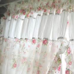 Shabby Chic Curtain Material Shabby Chic Curtain
