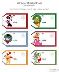 printable disney christmas gift tags disney s world of