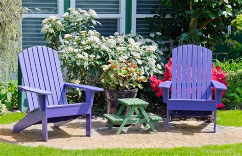 add colour to make outdoor spaces shine