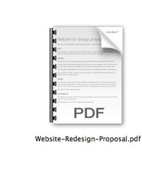 web design proposal vol 1 download free web design proposal