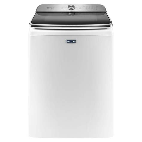 maytag 6 2 cu ft top load washer in white mvwb955fw
