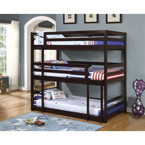 Three Bed Bunk Beds Bunk Bed 400302