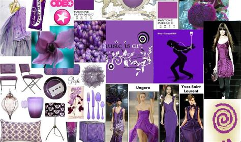purple mood colour and fashion trends 2008 purple mood board