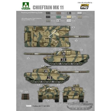 135 Battle Tank Chieftain Mk10 1 35 battle tank chieftain mk 11 ammo by