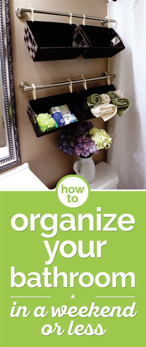 organize your bathroom how to organize your bathroom in a weekend or less thegoodstuff