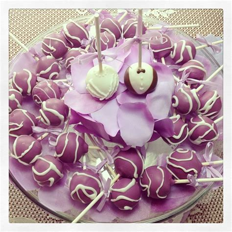 Cake Pops For Wedding Shower by Bridal Shower Cake Pops That I Made Wedding Cake Pops