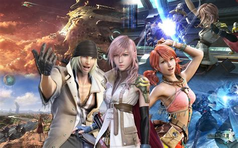 final fantasy xiii wallpaper  neok  deviantart