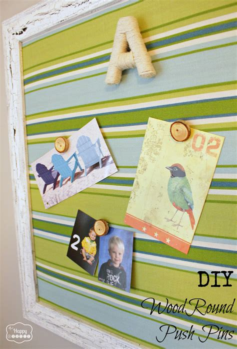 pin boards for rooms diy wood magnets and push pins the happy housie