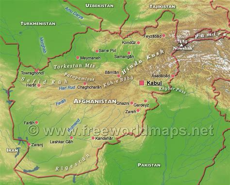 5 themes of geography afghanistan pacific ocean map