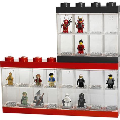 8 figure display lego mini figure display 8 minifigures black toys zavvi