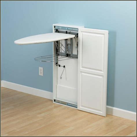ironing board wall cabinet diy wall mounted ironing board www pixshark com images