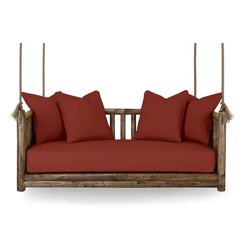 hanging day bed rustic hanging bed and daybed la lune collection