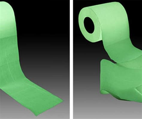 How To Make Glow In The Toilet Paper - toilet paper