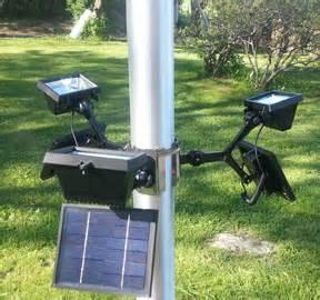 commercial solar flagpole light commercial led solar flagpole light product details