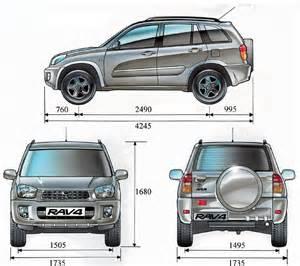 Toyota Rav4 Size Toyota Rav4