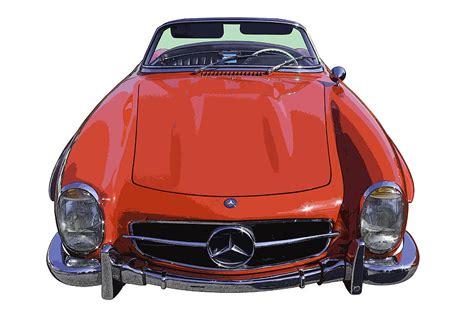 classic red mercedes classic red mercedes benz 300 sl convertible sportscar