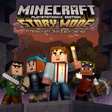 ps3 themes minecraft story mode minecraft playstation 4 edition minecraft story mode