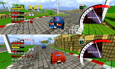 pixel race 3d pixel racing game nintendo world report