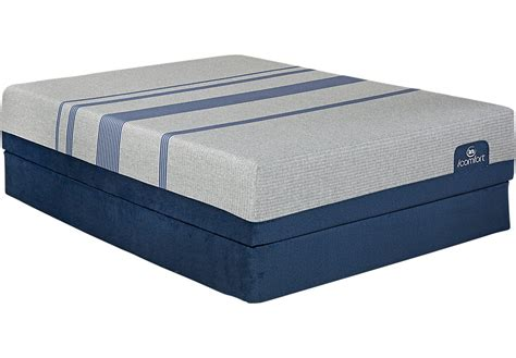 Serta Sleeper Price by Serta Icomfort Bluemax 1000 Motion Essentials Set Mattress Barn