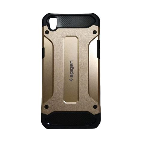 Spigen Iron Oppo F3 Plus jual spigen iron army cover casing for oppo r9 f1 plus gold harga kualitas terjamin