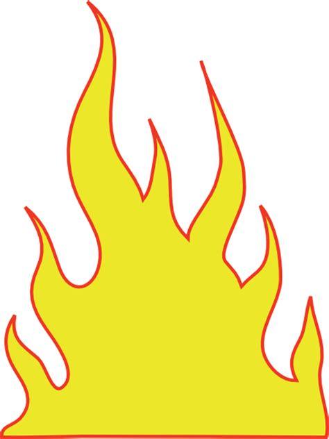 flames template flames 5 clip at clker vector clip