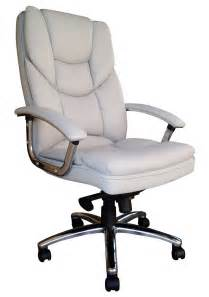 Leather Executive Chair Design Ideas White Leather Office Chair Cryomats Org