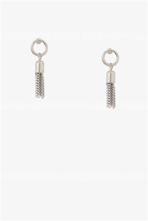 Fringe Hoop small fringe hoop earrings