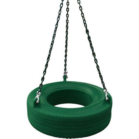 gorilla tire swing gorilla playsets roto molded tire swing green walmart com