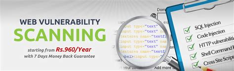 scanning website web vulnerability scanning website server security service