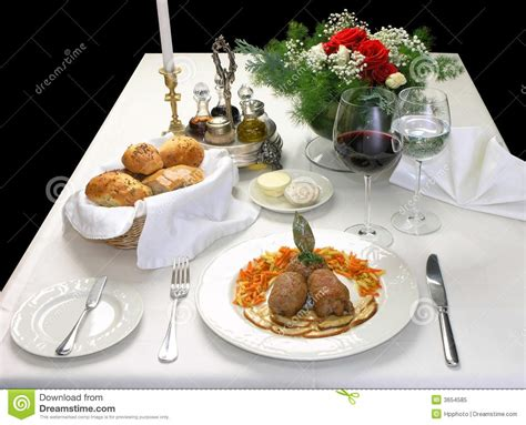 elegant dinner elegant dinner royalty free stock photo image 3654585