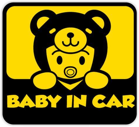 Lekslusivel Stiker Mobil One Peace Baby In Car Terlaris jual stiker baby in car jagoanprinting