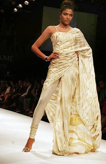 innovative saree draping styles poll do you like these new sari styles rediff getahead