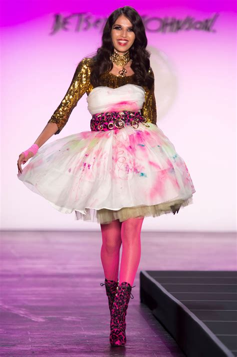 New York Fashion Week Betsey Johnson by Betsey Johnson At New York Fashion Week 2016 Livingly