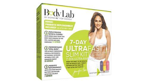 7 Day Detox Lab by Lab 7 Day Ultra Fast Slim Kit Groupon