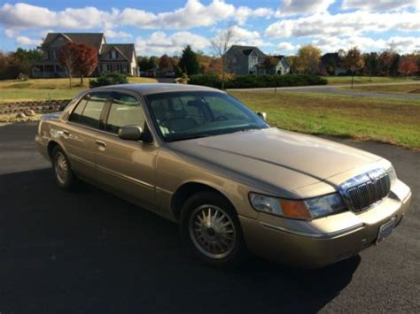 how to sell used cars 2000 mercury grand marquis seat position control buy used 2000 mercury marquis limited stunning condition in united states for us 2 995 00