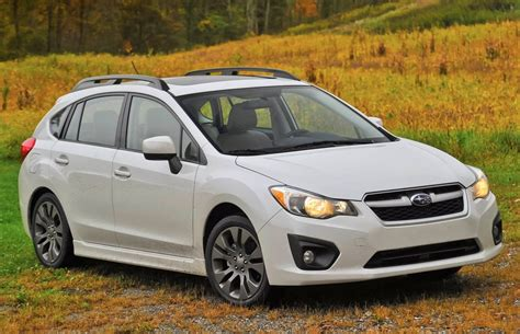 white subaru impreza hatchback top 20 best selling cars in canada march 2014 car