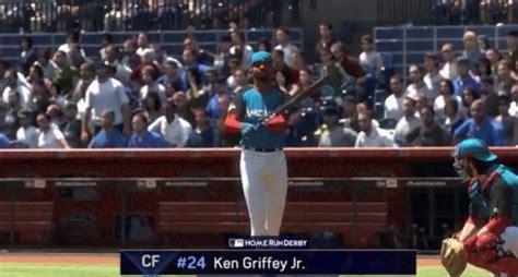 ken griffey jr wears hat backwards in mlb the show 17
