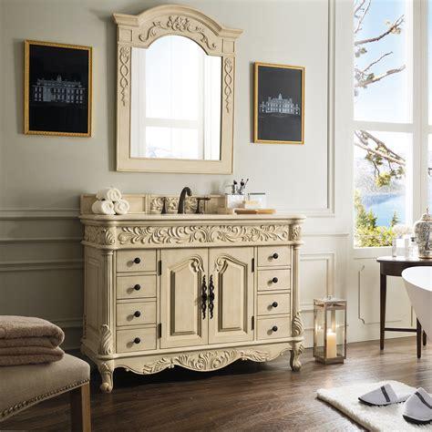 james martin furniture parchment  single light wood
