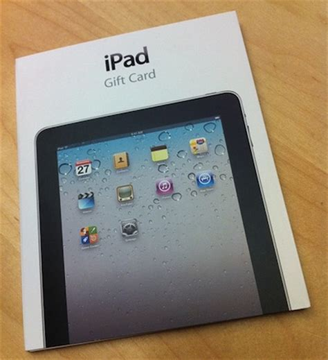 Selling Apple Gift Card - ipad gift cards spotted at apple stores macstories