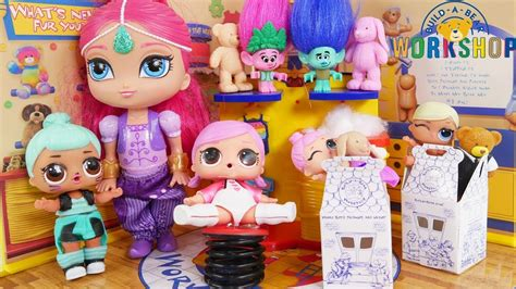 Egg Dolls Lol Anniversary Edition Glitter Serie shimmer and shine lol dolls build a store paw patrol trolls lil glitter