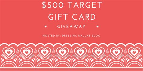 Free 500 Target Gift Card - 500 target gift card giveaway the harper house