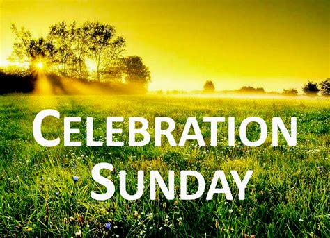 celebration sunday thespirituniversitycoms website