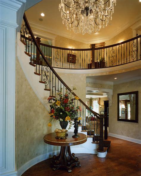 foyer   custom house plans  studer residential